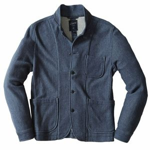 Grayers Albemarle Herringbone Knit Blazer Blue Med